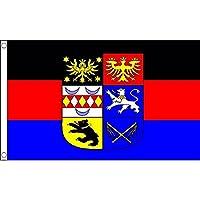 AZ FLAG 东弗西萨国旗 2 英尺 x 3 英尺 - 东部弗里斯兰 - Ostfriesland 旗帜 60 x 90 cm - 横幅 2x3 英尺