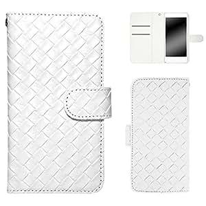 白色边框手机保护壳翻盖式 Ami · Ami 白色 2_ Xperia A4 SO-04G Sony