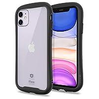 [2019] iPhone 11 手机壳,iFace [反射] 时尚防滑气垫 [透明] [9H 钢化玻璃 + TPU] [DIY] iPhone 11 黑色