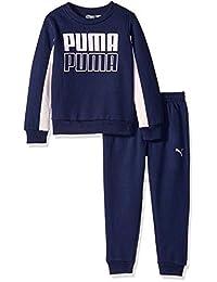 Puma 女童套头羊毛套装
