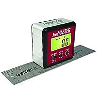 Calculated Industries 7534 AccuMASTER 2 合 1 磁性数字水平和角度探测器 | 倾斜仪 | 斜度仪,*新 MEMs 技术,IP54 防尘防水 | 赠送 15.24 厘米精密尺