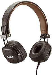 Marshall 马歇尔 Major III 有线头戴式耳机,棕色—新