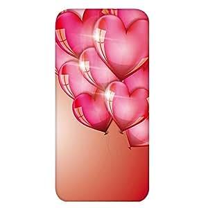 智能手机壳 TPU 印刷 对应多种机型 图案D(cw-439) Huawei Ascend D2 HW-03E * 套 软质 心形 气球 UV印刷 壳 wn-0596182-wy