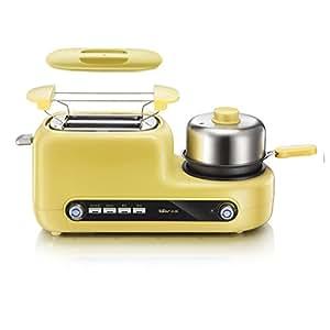 Bear 小熊 烤面包机 家用吐司机多士炉 全自动早餐机 2片 DSL-A02Z1(亚马逊自营商品, 由供应商配送)