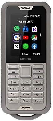 诺基亚 800 Tough 户外手机(6.1厘米(2.4英寸),Dual-SIM,4G LTE,KaiOS)16CNTN01A04  沙色