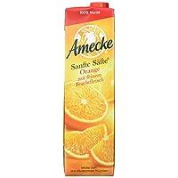 Amecke 爱美可 原装鲜榨果肉橙汁 1L*6(德国进口)