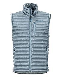 Marmot 男式 Avant 无羽毛背心,轻质保暖徒步背心,保暖户外背心,防水防风