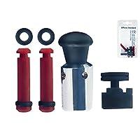 Inoxriv 压力锅配件套装(1 套重量 + 1 个*阀 + 2 个锁定设备)