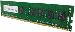 QNAP RAM-4GDR4-LD-2133 4GB DDR4-2133 UDIMM Memory Module for TVS-x82T and TVS-x82 Series, Retail