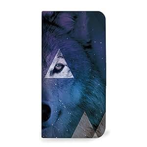 mitas iphone 手机壳520NB-0219-A/507SH 11_Android One (507SH) A・オオカミ(ベルトなし)
