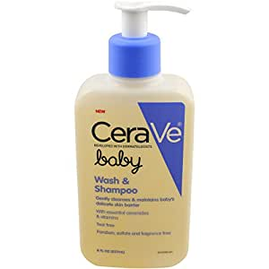 CeraVe Baby Wash and Shampoo, 8 Ounce