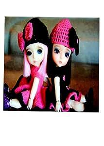 Beverage Doll 印花杯垫套装个性化饮料杯垫 - 印花木制 - *吧/餐具 方形 12片装