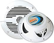 "BOSS AUDIO MR50W Marine  5.25"" 2-way 150-watt Full Range Spe"