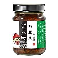厨大哥 下饭菜 鸡腿菇220g 四川榨菜 咸菜 拌饭酱 下饭菜 拌面酱