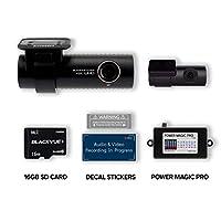 Blackvue DR900S-2CH 带 16GB 微型 SD 卡 ? 随附 Power Magic Pro 硬接线套件? WiFi GPS 4K 录音 CLOUD 连接