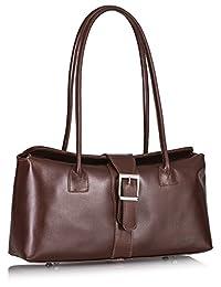 liatalia 正品意大利皮革上衣手柄搭扣细节中号斜挎包单肩手提包与防护储物袋–megan