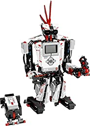 LEGO MINDSTORMS EV3 31313 機器人套件,兒童遙控器,Educational STEM 編程和學習方法代碼(601 件)