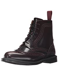 Dr. Martens 女士 Delphine Red Arcadia 及踝靴