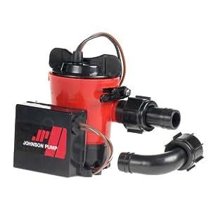Johnson 1000GPH Ultima 组合泵(3/4-英寸软管 Dura 端口)