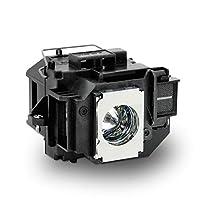 Gahin Elplp58投影机灯泡带外壳替换灯泡适用于爱普生 EX3200 EX5200 EX7200 PowerLite 1220 1260 S9 X9 S10+ VS200 EB-S10 EB-S9 EB-S92 EB-W10 EB-W9 EB-X10 EB-X9 EB-X92 投影仪