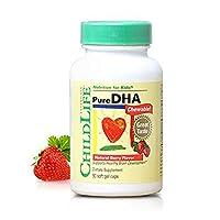Childlife 童年时光 婴幼儿DHA胶囊 90粒/瓶 (6个月-12岁)鱼皮胶囊 入口即化 美国品牌 包税