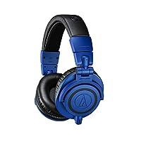 Audio Technica 铁三角 ATH-M50xBB限量版专业录音室监听耳机,蓝色