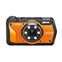 WG-6 20MP 水下数码相机美国模型03853 仅摄像机 橙色