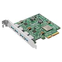 高点 HighPoint 2 端口 USB PCI-Express RocketURocketU 1344A 4-USB 3.1 Ext. Ports 4x 10Gb/s