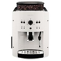 Krups 全自动咖啡机(1.8 升,15 巴,卡布奇诺 Plus - 喷嘴) 白色 000