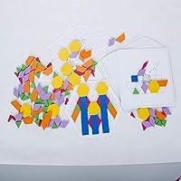 木马智慧 138片拼图积木 儿童创意拼图积木玩具  21083