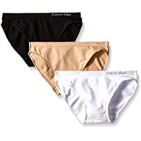 Calvin Klein 女式 纯色隐形比基尼式内裤