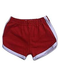 Sol Baby 复古婴儿/幼儿红色健身短裤