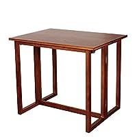 INNESS英尼斯 原装进口实木折叠桌 餐桌 TB51 可折叠桌子 (不包含凳子)【亚马逊自营,供应商发货】