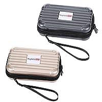 Naphele 奈菲乐 mini旅行箱化妆包 洗漱包 多功能收纳包 数码包 (两个装)