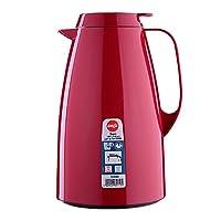 爱慕莎(emsa) 德国原装进口贝格真空保温壶家用保温瓶热水瓶暖瓶暖壶热水壶开水瓶1.5L 深红色