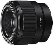 Sony 索尼 F1.8定焦鏡頭 SEL50F18F E卡口全畫幅50毫米 -黑色