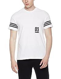 adidas 阿迪达斯 男式 运动型格 短袖T恤 SS 03 DS BOX