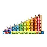 Melissa & Doug 添加和减法阿克萨斯 - *玩具,带 55 个彩色珠子和结实的木制结构