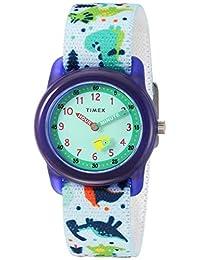 Timex 兒童TW7C773009J  Analog 尼龍 白色 TW7C773009J watches