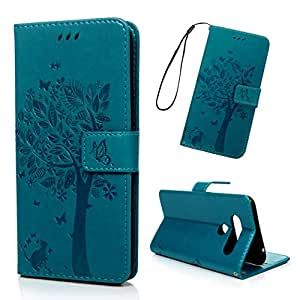 LG V40 手机壳 蓝色