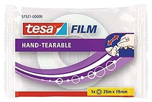 tesa 德莎 德国进口 薄膜手撕自粘胶带 尺寸为25m*19mm