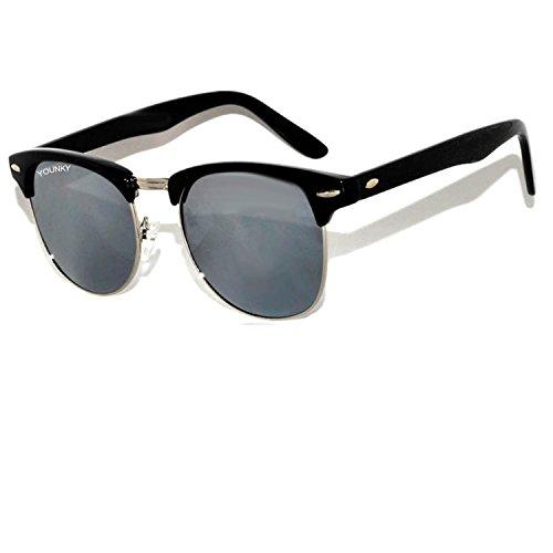 new stylish sunglasses  Stylish Black Frame Silver Mercury Wayfarer Party Classic ...
