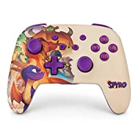 任天堂切換有線控制器 Wireless Nintendo Switch Controller Spyro Cream