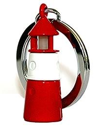 Metalmorphose 灯塔钥匙扣夜光配饰 - 红色