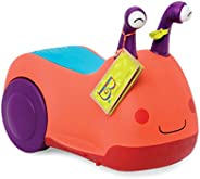 B. toys by Battat Buggly Wuggly 骑行玩具(有灯光和声音)- 不含双酚 A - 儿童骑行玩具带储物空间,适合幼儿和 12 个月以上宝宝
