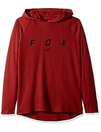 Fox 男式平纹长袖轻质连帽保暖衣