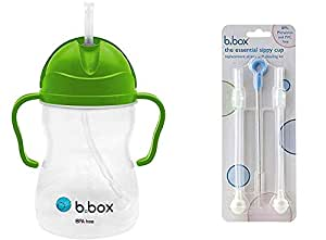 B. Box Essential 吸管杯 - 带更换吸管和清洁剂 苹果