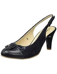 caprice 女式29600款后带挑空式凉鞋