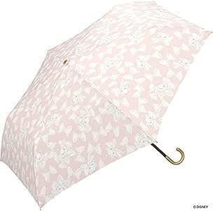 World Party(Wpc.) Disney迪士尼 雨伞 折叠伞 粉色 50厘米 女款 带伞袋 玛丽猫/浅色缎带 迷你 DS079-019 PK
