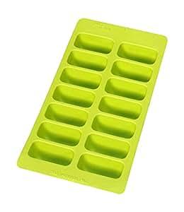 Lekue 冰块托盘,塑料,绿色
